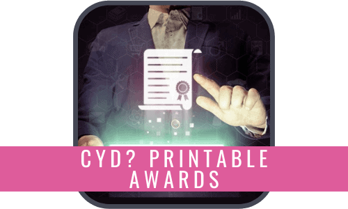 Printable Awards
